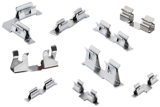 Figure 17.1 : SMD clip for mounting PCB shielding cans
