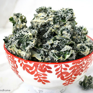 Habanero Kale Chips (Raw, Vegan, Gluten-Free, Dairy-Free, Paleo-Friendly) Recipe