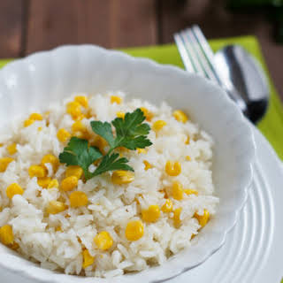 White Rice With Corn Recipes.