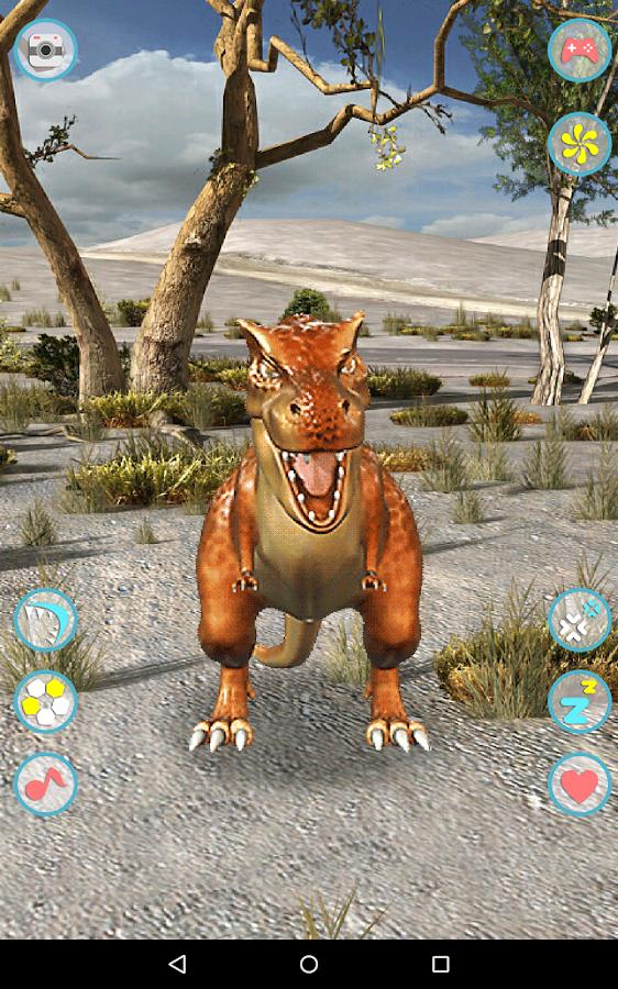 Talking Tyrannosaurus Rex- screenshot