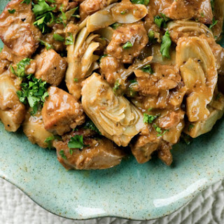 Veal Artichoke Ragout Recipe