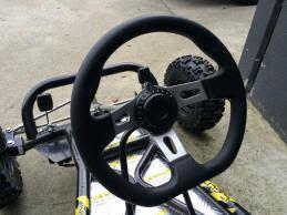 6.5 hp horse power offroad dirt go kart cart bike automatic kids teenagers 4 stroke motoworks sale discount cheap steering wheel
