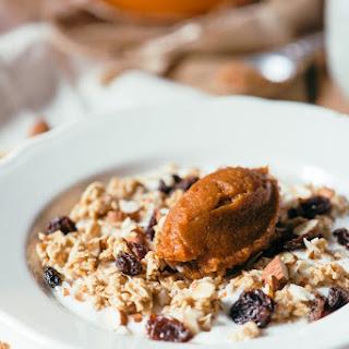 Pumpkin Spice Yogurt & Granola