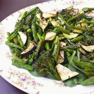 Grilled Green Vegetable Salad.