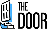 Logo for The Door.