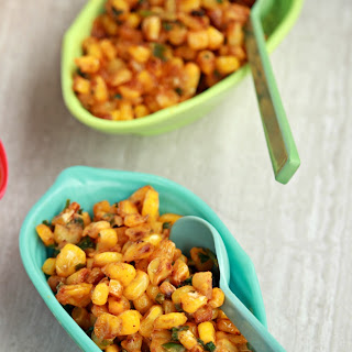 Esquites | Creamy Mexican Street Corn Salad.