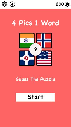 4 Pics 1 Word : Guess The Puzzle 0.0.0.5 screenshots 1