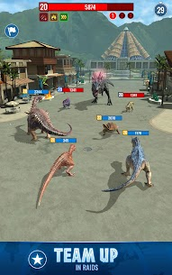 Jurassic World Alive MOD APK (Unlimited Battery, VIP Enabled) for Android 4