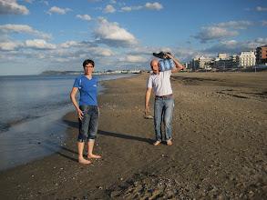 Photo: Das Meer war noch recht frisch ... eh klar, im April ... Aber wir waren ja nicht zum Baden hier.