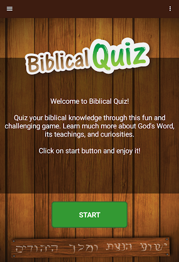 Biblical Quiz 2.01.100 screenshots 8