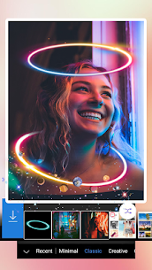Light Crown Photo Editor: Neon Light Effects 1