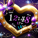 Glossy Love LWP Trial icon