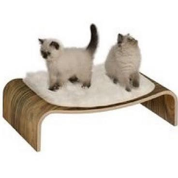 Vesper V-lounge Cat Lounger  #vespervlounge #vespercat #vespercatfurniture #vespercatlounger