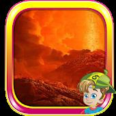 Escape from Dormant Volcano