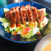 Miso-Katsu (Pork) Salad