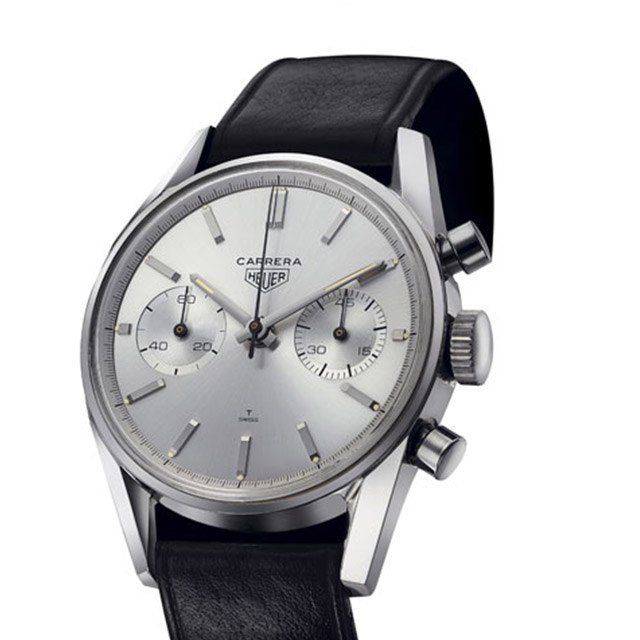 1963 Tag Heuer Carrera chronograph.