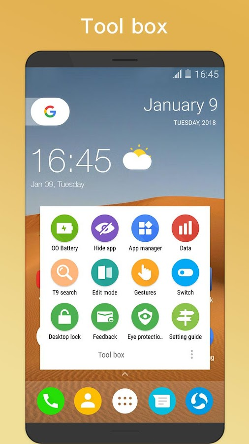 OO Launcher for Android O 8.0 Oreo™ Launcher- screenshot