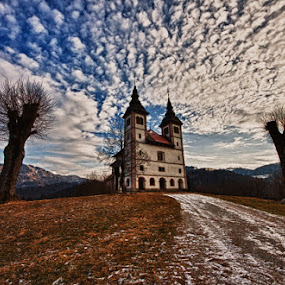 Guards by Lovro Konjedic - Landscapes Travel ( log in church )