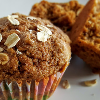 Healthy Banana Coconut Muffins.