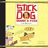 Stick Dog Chases a Pizza