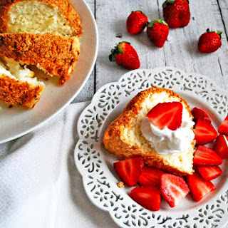Heavenly Angel Food Cake.