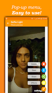 Selfie Light Capture d'écran