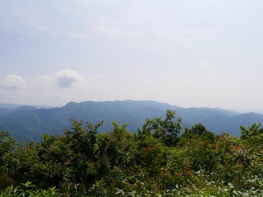 御嶽山方面(見えず・・・)