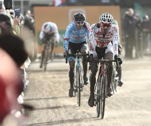 """David van der Poel glundert naast zijn broer: """"Dit is mijn allereerste podiumplaats in een klassementscross"""""""