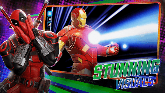 MARVEL Strike Force Squad RPG 3.8.2 MOD (Skill has no cooling time) 2