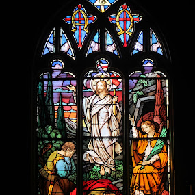 Stained Glass, Toronto, Canada.   by Carl VanderWouden - Artistic Objects Other Objects
