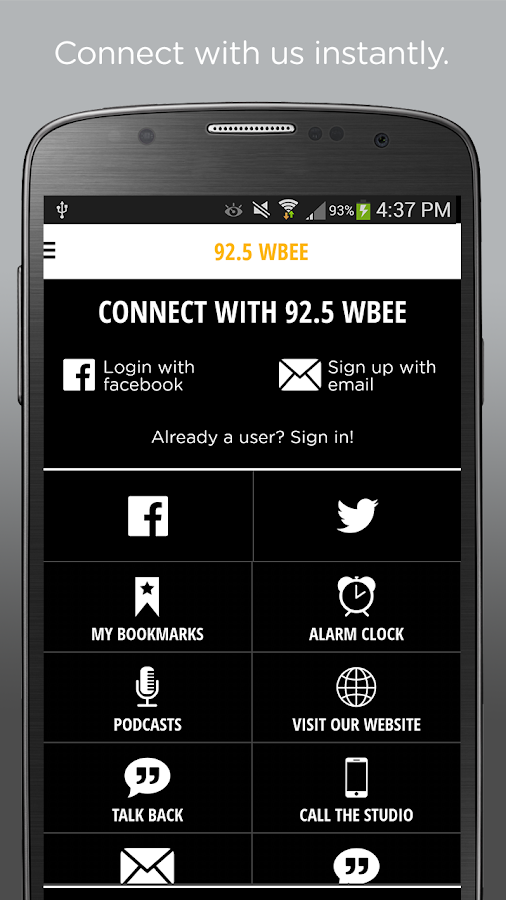 92.5 WBEE- screenshot