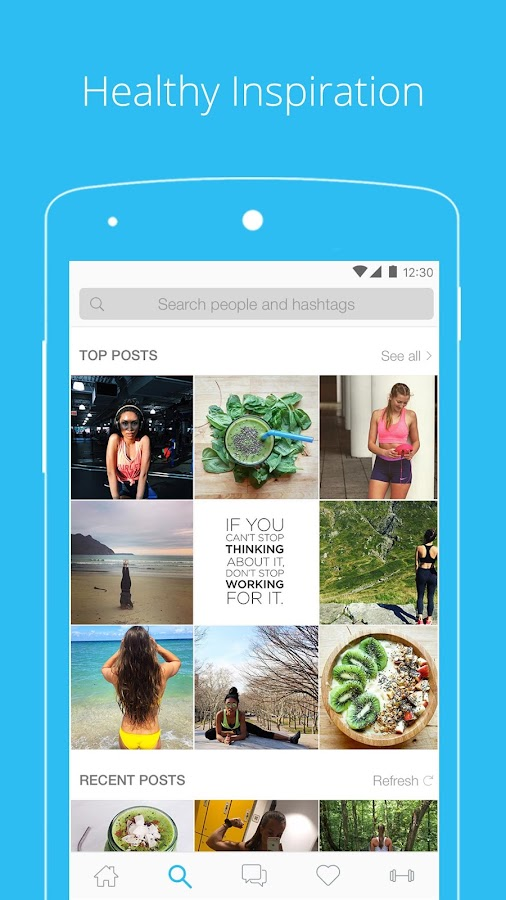 PumpUp — Fitness Community- screenshot