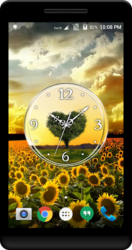 Download Love Tree Clock Live Wallpaper Google Play Softwares