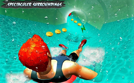 Water Park Slide Adventure 1.1 APK MOD screenshots 1