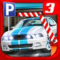 Multi Level 3 Car Parking Game icon