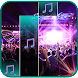 Electronic Piano Electric Tiles Beat Hits Music