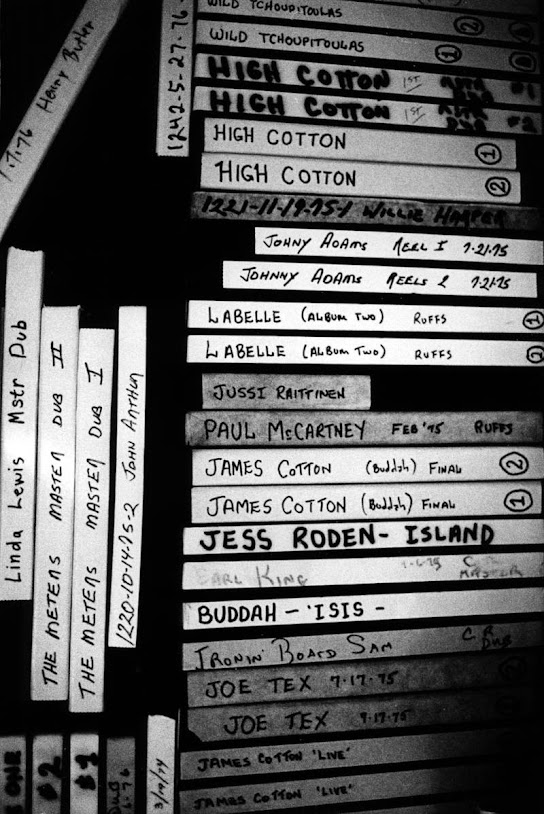 Sea-Saint studion nauha-arkistoa, Jussin ja Paul McCartneyn nauhat päällekäin