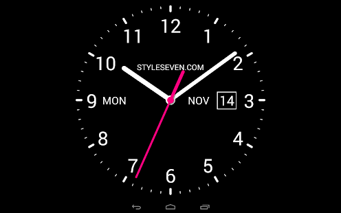 Analog Clock Live Wallpaper7 Android Apps on Google Play