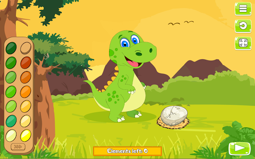 Paint and Go - Coloring of Dinosaurs with Cartoons android2mod screenshots 6