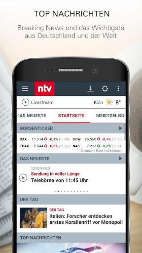 ntv Nachrichten 5.6.2 screenshots 1