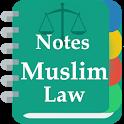 Muslim Law Notes icon