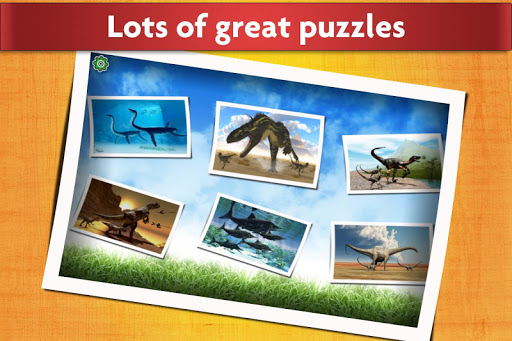 Dinosaurs Jigsaw Puzzles Game - Kids & Adults apktram screenshots 2
