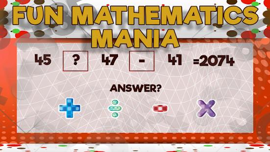 Fun Mathematics Mania - náhled