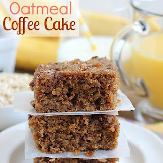 Oatmeal Coffee Cake.