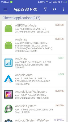 App2SD: All in One Tool [ROOT] 13.4 screenshots 5