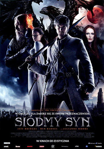 Przód ulotki filmu 'Siódmy Syn'