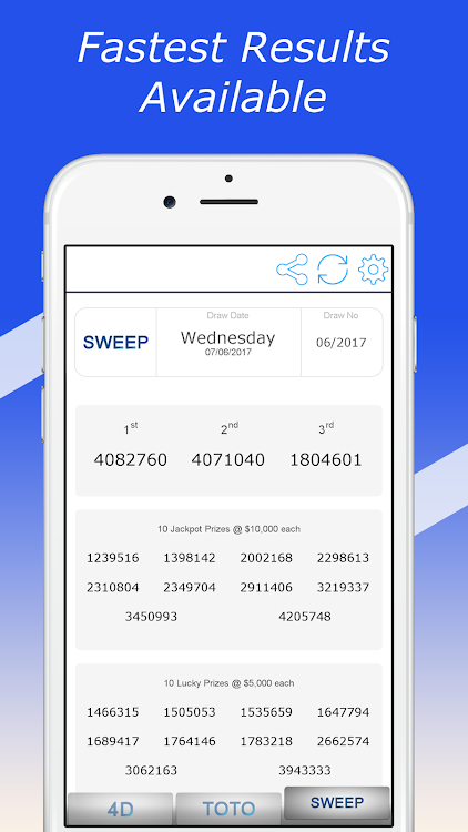 Fast Singapore Pools Toto 4D Result – (Android Apps) — AppAgg