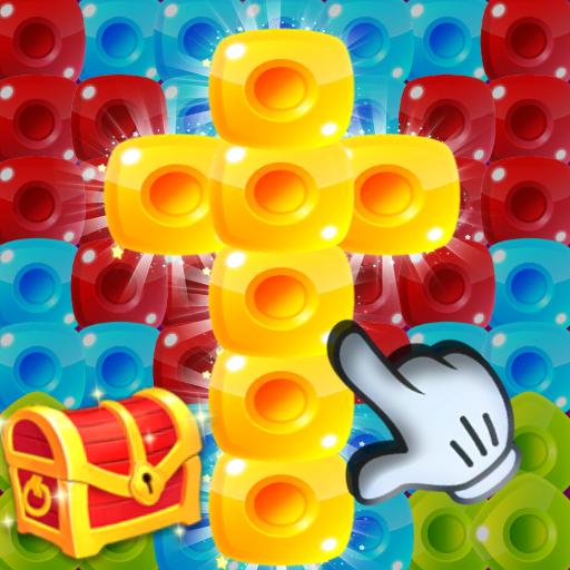 Toy Blast Block Pop Crush Cube