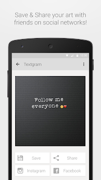 Textgram Legacy APK screenshot thumbnail 5