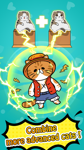 Screenshot for Merge Cats - Cute Idle Game in United States Play Store